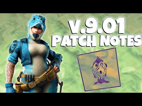 Fortnite : Update v9.01 Patch Notes - Save The World | PVE