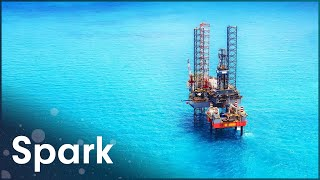 How Does This Oil Rig Stay In Place? | Super Structures | Spark
