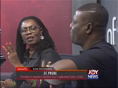 President to announce Charlotte Osei's replacement soon - Newsfile on JoyNews (30-6-18)