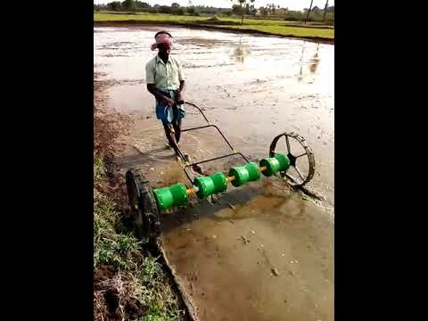 Manual Operated Paddy Drum Seeder