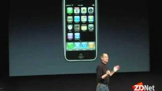 Jobs unveils iPhone App Store