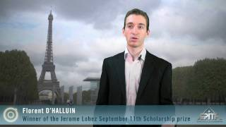 Florent D'halluin, 2009 Scholarship Recipient