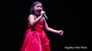 "Angelica Hale Sings ""All I Want For Christmas"" in Hollywood, CA - Dance For Kids"
