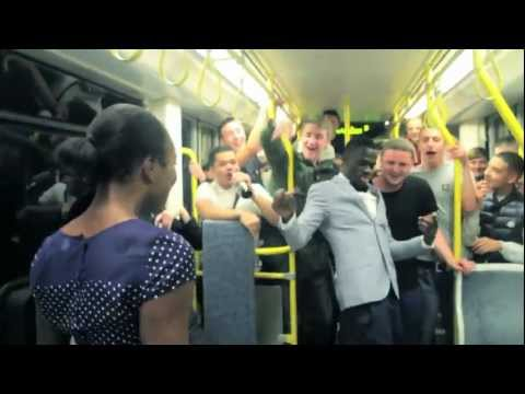 Tram duo dance goes viral as video is watched over a million times