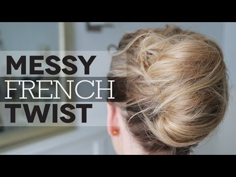 How To: Messy French Twist