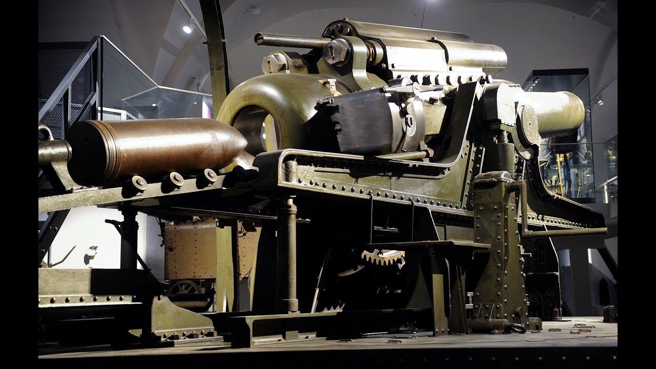 Die 38cm Belagerungshaubitze M.1916 aus den Škoda Werken A.G./Pilsen