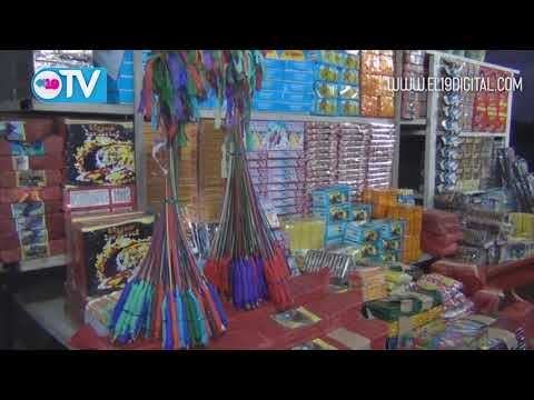 Arranca venta de juegos pirotécnicos en Masaya