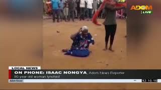 90-year old woman lynched - Premotobre Kasee on Adom TV (24-7-20)