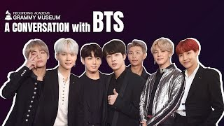 BTS On Songwriting, Success & Their Fans   GRAMMY Museum
