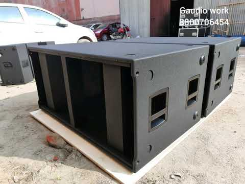 Rcf v218 style empty cabinet