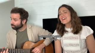 """Mandy Moore and Taylor Goldsmith (Dawes) - """"I Wanna Be With You"""" - Instagram Live"""