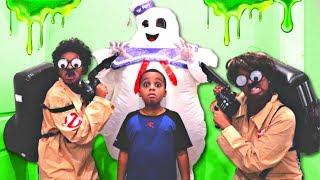 Bad Baby MARSHMALLOW MAN ATTACKS Ghostbusters Shasha And Shiloh - Onyx Kids