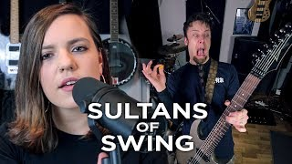 Sultans of Swing (metal cover by Leo Moracchioli feat. Mary Spender) - dooclip.me