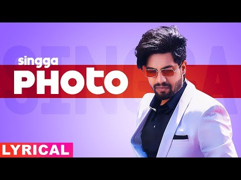 Photo (Lyrical) | Singga ft Nikki Kaur | Tru Makers | Latest Punjabi Songs 2019 | Speed Records