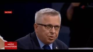 Poseł Kukiz'15 rozbawił wszystkich w TVP. Ujawnił, dlaczego Trump nie przyleciał do Polski.