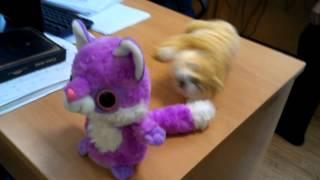 Говорящая игрушка лемур