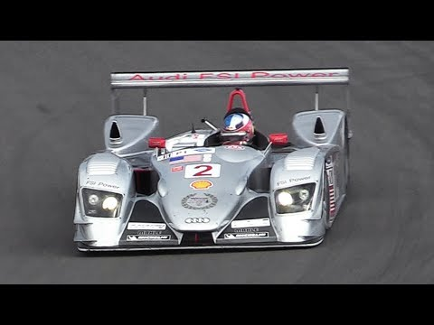 2005 Audi R8 LMP V8 FSI Sound: Accelerations & Fly Bys at Imola & Nürburgring!