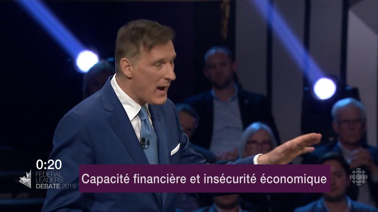 Yves-François Blanchet et Maxime Bernier débattent sur la péréquation