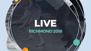 LIVE 🔴   Men Free Skating   Richmond  2018
