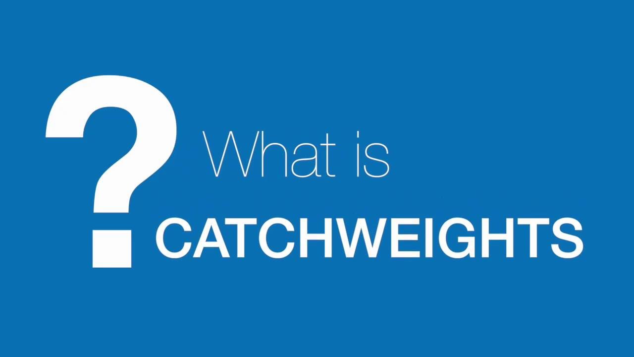 Catch Weights Management Concepts