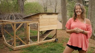 Best Chicken Tractor Built For Free   Chicken Coop