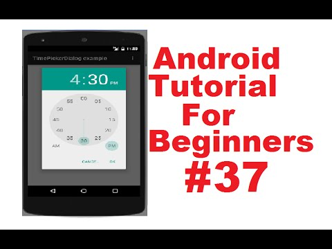 Android Tutorial for Beginners 37 #  Applying Styles on Components