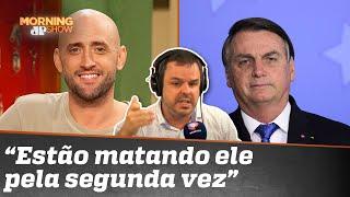 Bolsonaro é culpado pela morte de Paulo Gustavo?