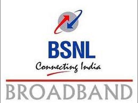 Video demonstration to change BSNL broadband plan online
