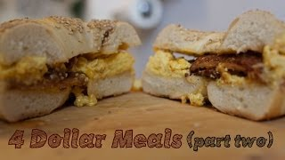 4 Meals, 4 Ingredients, 4 Dollars - College Cooking (Pt. 2)