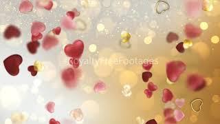 heart motion background loop | love heart animation video download | heart flying video - download