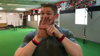 Tip of the Week: Holding Weights Without Pinching Your Hands
