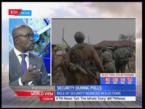 Interview : Security during polls, concern over campaign violence