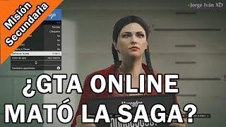 HABLEMOS de GTA ONLINE   Misión Secundaria   Universo GTA