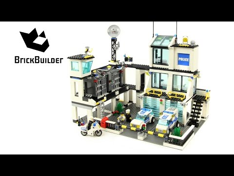 Vidéo LEGO City 7744 : Le poste de police