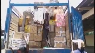 Saisie de marchandises frauduleuses prohibées dans le centre-ouest de la Côte d'Ivoire