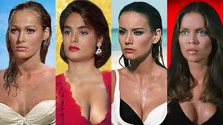 JAMES BOND GIRLS ⭐ Then and Now 1962 -  2019 | Name and Age