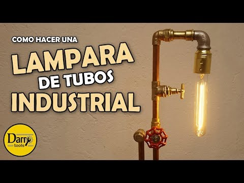 Lámpara de tubos industrial