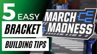 5 Easy Bracket Tips   2021 March Madness Expert Strategy   Final Four Picks