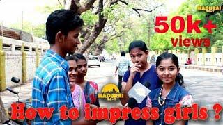 Black aa eruntha pudikkum !! | How to impress girls ? l Madurai girls open talk l Madurai 24*7