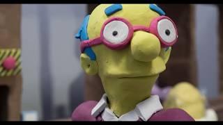 Смотреть онлайн Если бы Симпсоны снимали из пластелина