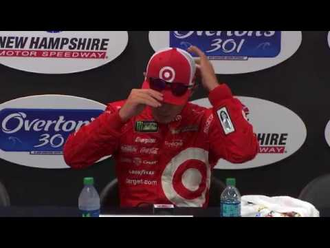 2017 NASCAR New Hampshire Monster Cup Series Post Race Q&A