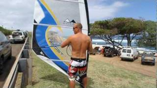 Win MauiSails 2012 Ghost XT wave sails