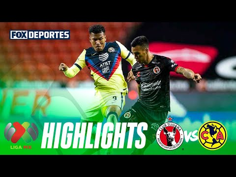 Xolos 0-2 América | HIGHLIGHTS | Jornada 9 | 3 de marzo