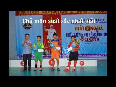 Giải bóng đá thiếu niên nhi đồng tỉnh Gia Lai 2019 - Chung kết - APC Gia Lai