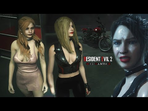 Resident Evil 2 Mod: Claire Royal and Claire Party