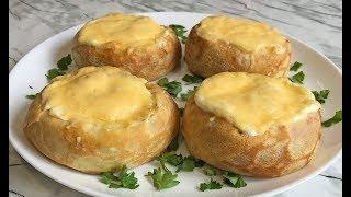 Необыкновенные Блины Улитки с Грибной Начинкой Вкуснотища и Красота!!! / Pancakes with Mushrooms