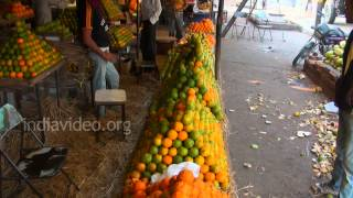 Orange Market in Nagpur