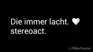 Stereoact Feat Kerstin Ott   Die Immer Lacht Lyrics