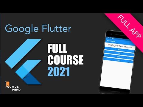 Flutter Crash Course for Beginners 2021 - Build a Flutter Ap Coupon