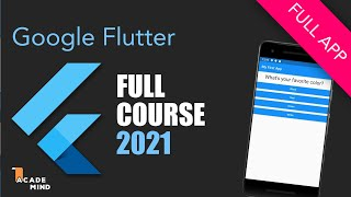 Flutter Crash Course for Beginners 2019 - Build a Flutter App with Google's Flutter & Dart